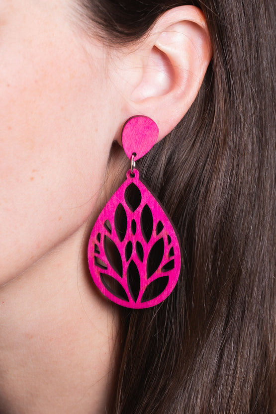 Type 4 Pink Forest Earrings