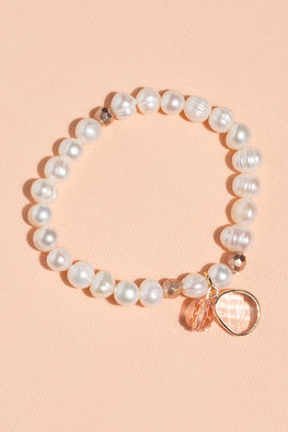 Type 1 Pearls & Charms Bracelet