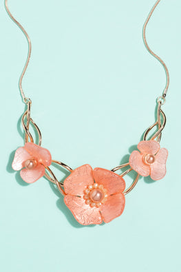 Type 1 Blooms on the Vine Necklace