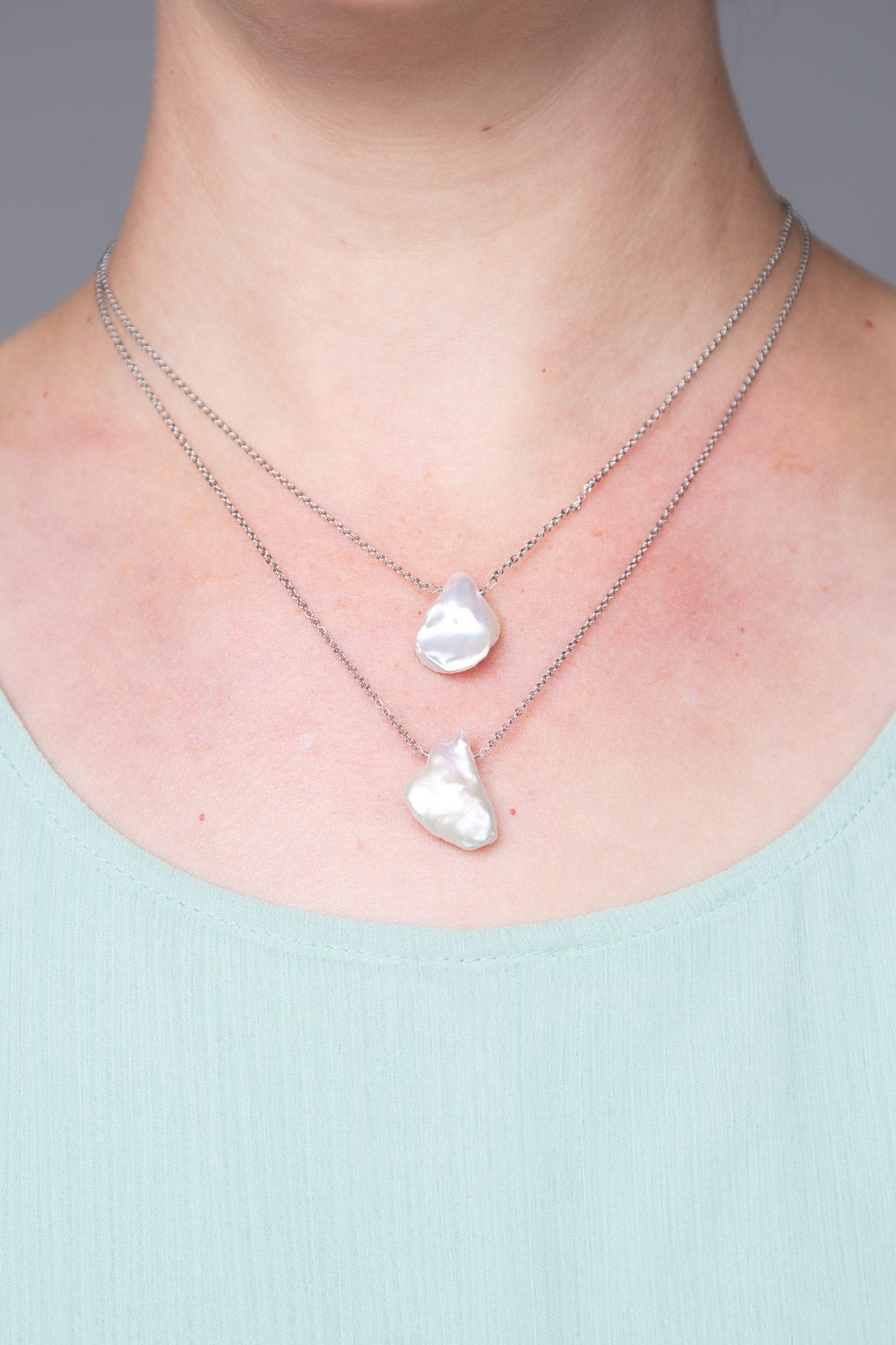 Type 2 Pearl My Heart Strings Necklace