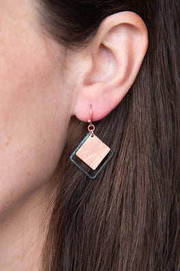 Type 3 Copper Goddess Earrings