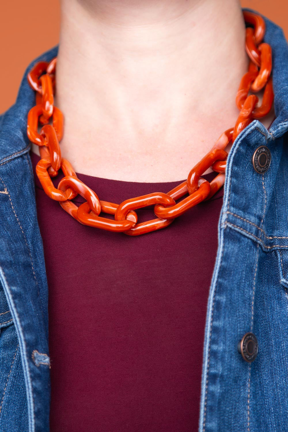 Type 3 Refined Rust Necklace