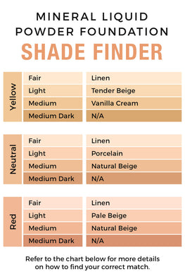Linen - Mineral Liquid Powder Foundation