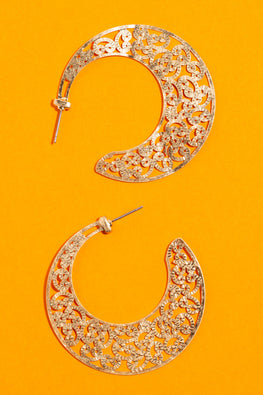 Type 1 Swoosh & Swirl Earrings