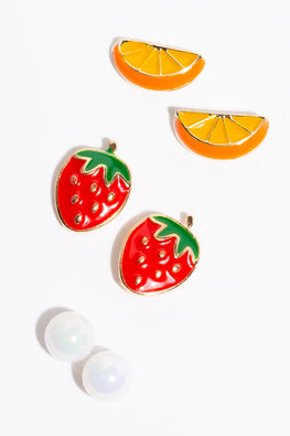 Type 1 Fruity Tooty Earrings