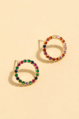 Type 1 Color Wheel Earrings