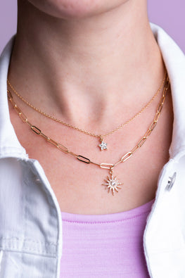 Type 1 Star Burst Necklace