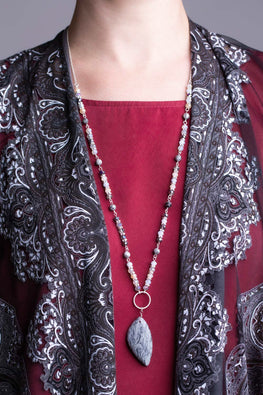 Type 2 Moon Marble Necklace