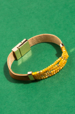 Type 3 Golden Nuggets Bracelet