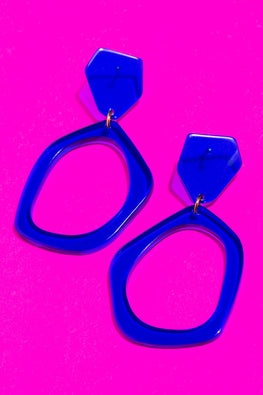 Type 4 Blue Ice Earrings