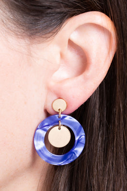 Type 1 Full Circle Earrings