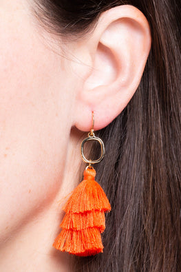 Type 1 Sweet Pumpkin Spice Earrings