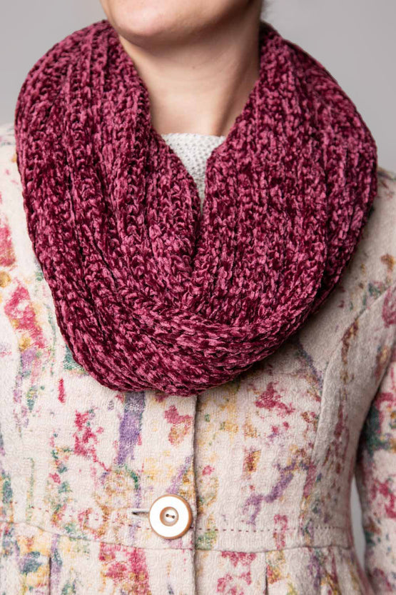 Type 2 Frosted Mulberry Scarf