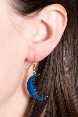 Type 1 Goodnight, Moon Earrings