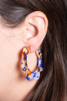 Type 1 Sunrise Flower Earrings