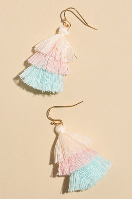Type 1 Pastel Brush Earrings