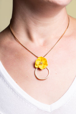 Type 1 Buttercup Beauty Necklace