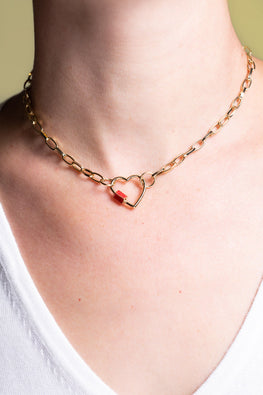 Links of Love Necklace