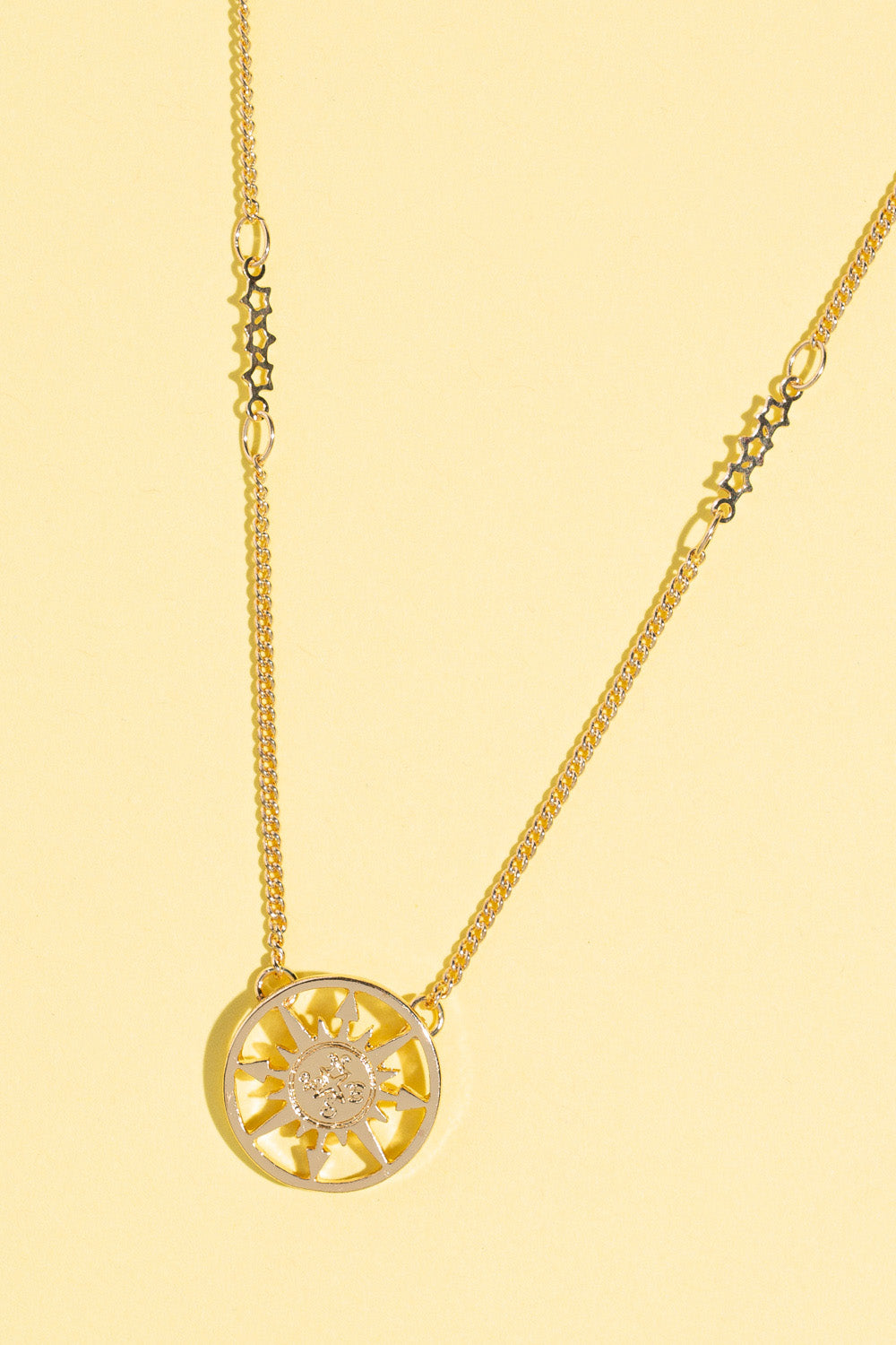Type 1 Follow Your Inner Compass Necklace
