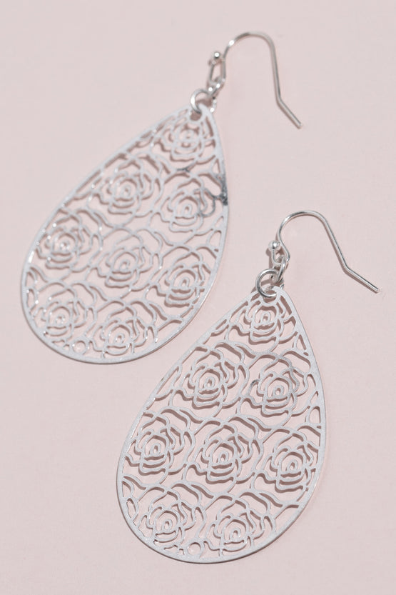 Type 2 Lacy Roses Earrings
