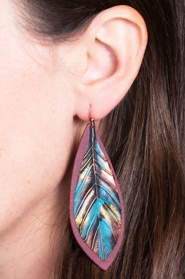 Type 3 Color Wash Earrings