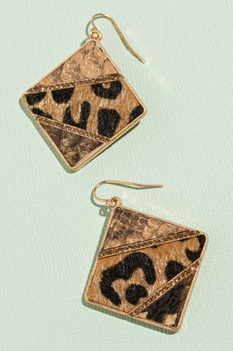 Type 3 A Day at the Zoo Earrings