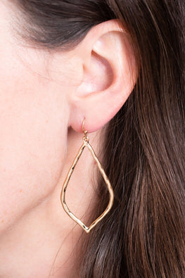 Type 3 Pointed Question Earrings