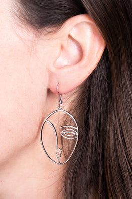 "Type 4 ""Oh! So Picasso!"" Earrings"