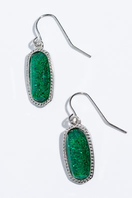 Type 4 Keen on Green Earrings