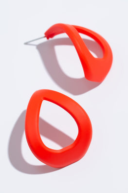 Type 4 Red My Mind Earrings