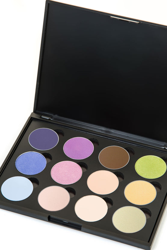 Magnetic 12-Well Eyeshadow Compact