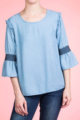 Type 1 Ruffle and Flair Top
