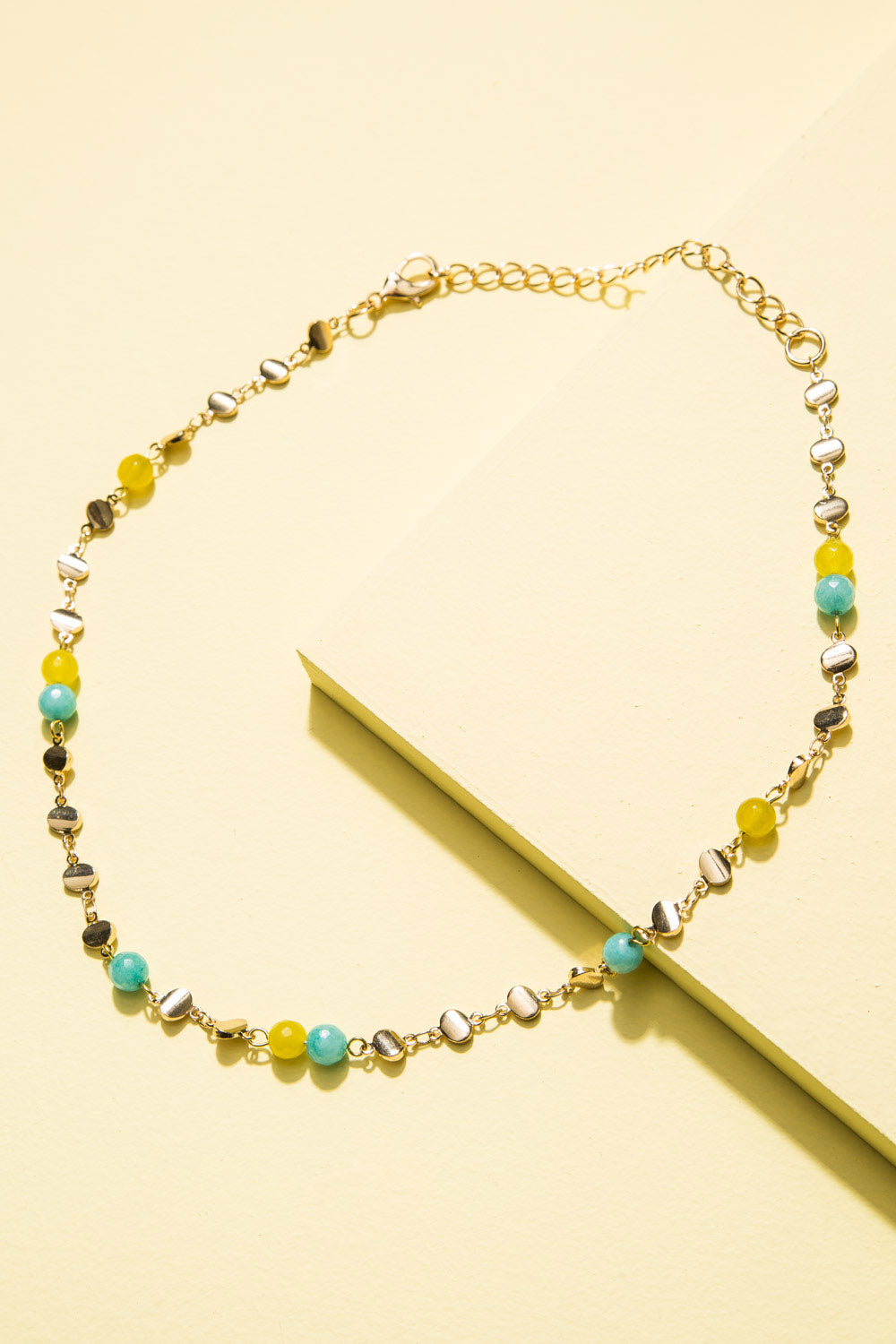 Type 1 Bobbles and Blue Necklace
