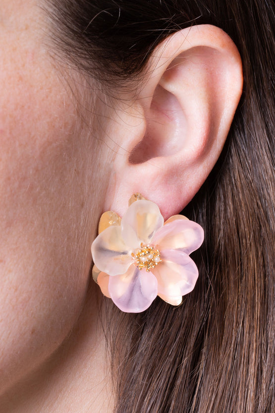 Type 1 Las Camelias Earrings