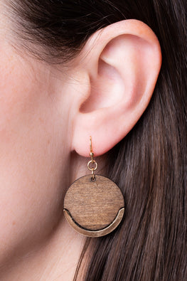 Type 1 Wood You Like To? Earrings