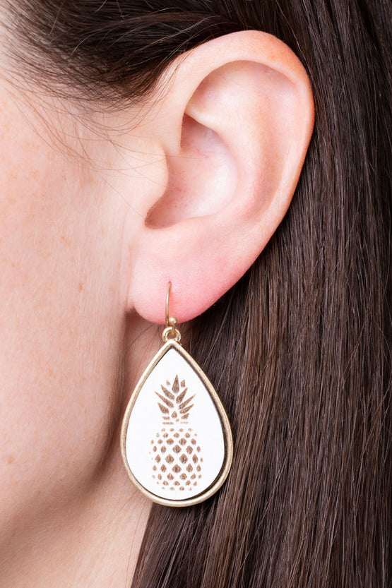 Type 1 Pina Colada Earrings