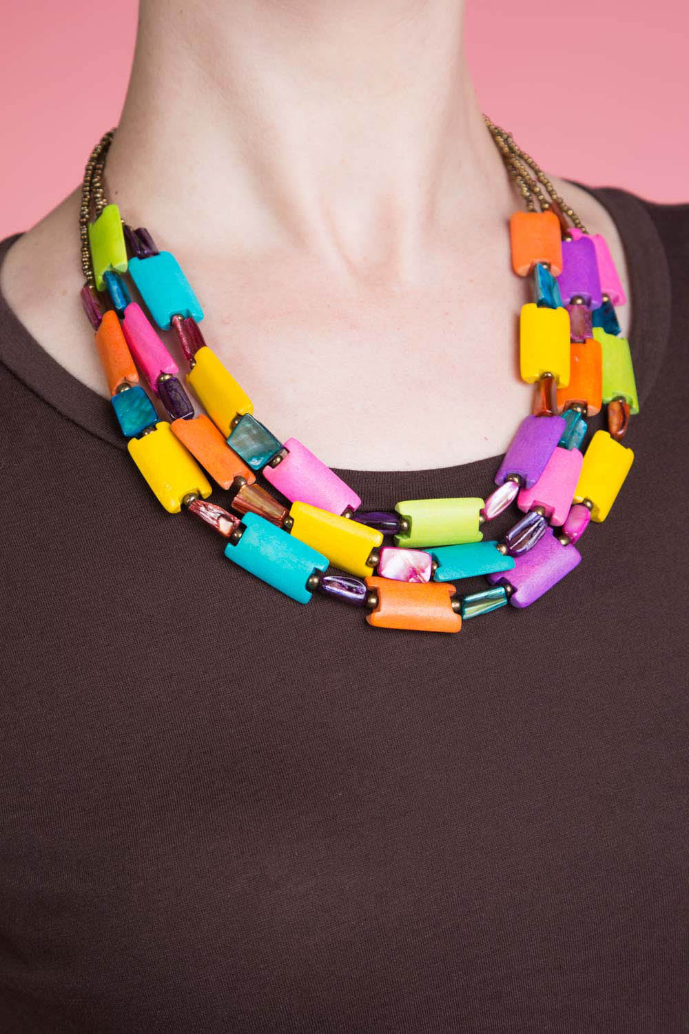 Type 1 Playing with Blocks Necklace