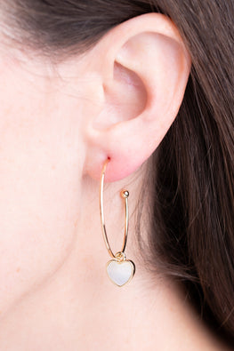 Type 1 Vanilla Cream Earrings