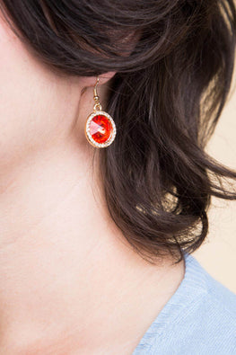 Type 1 Hidden Ruby Earrings