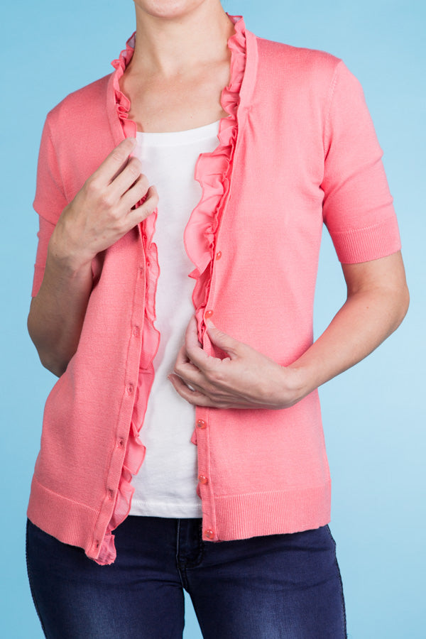 Fun Ruffles Cardigan