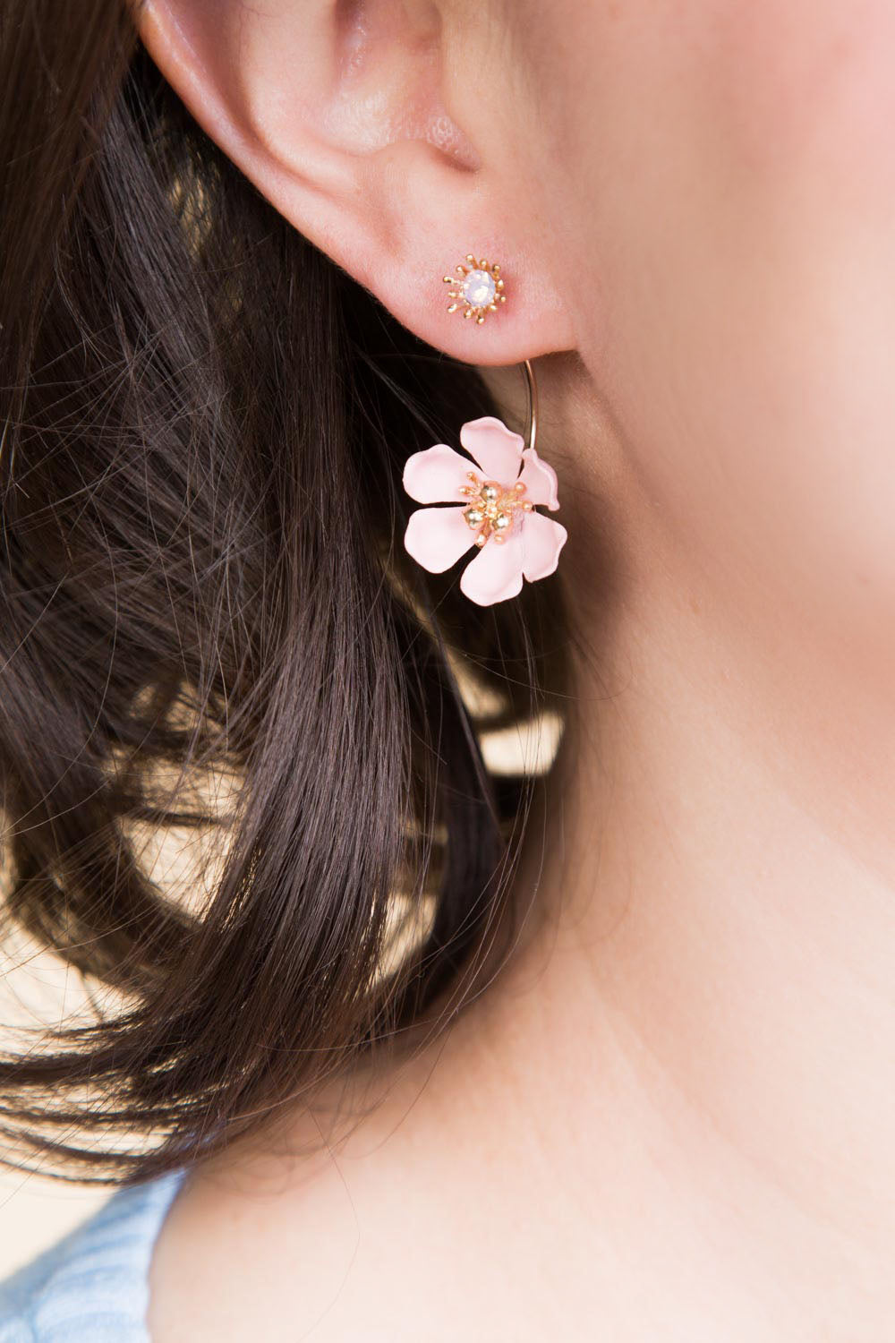 Type 1 Rose Drop Earring