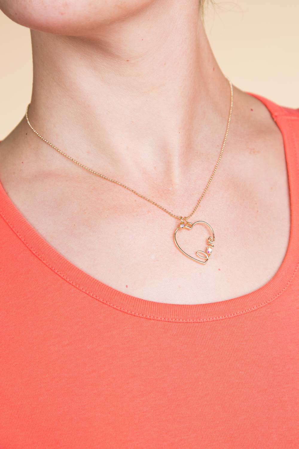 Type 1 Love'n The Heart Necklace