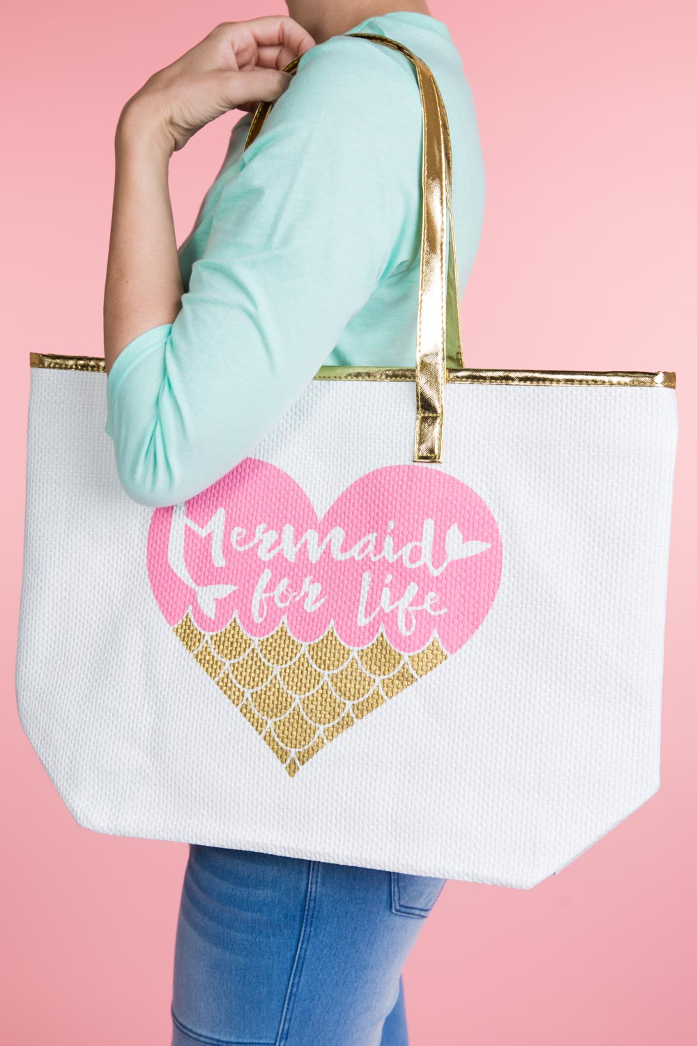 Type 1 Mermaid It For You Tote