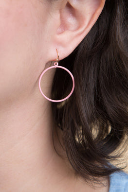 Type 1 Rosy Ring Earrings