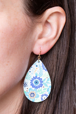 Type 1 Fields of Blue Earrings