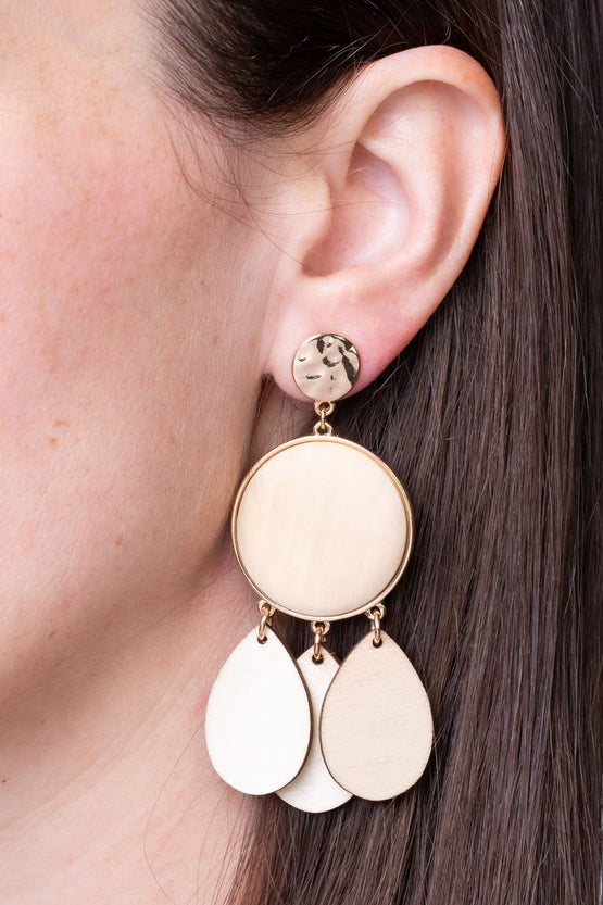 Type 1 Wood Chime Earrings
