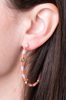 Type 1 Orange Wishes Earrings