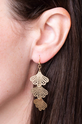 Type 1 Fan Girling Earrings