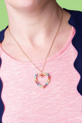 Type 1 A Rainbow of Love Necklace