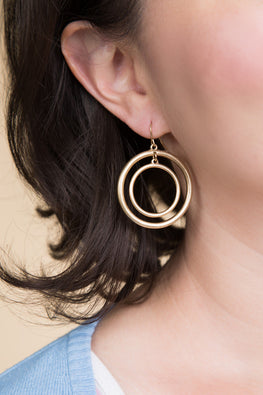 Type 1 Hula Hoops Earrings